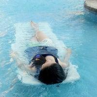 Photo taken at Gateway Regency Swimming Pool by Lovely G. on 2/6/2014