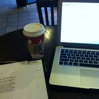 Photo taken at Starbucks by TJ L. on 11/8/2012