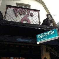 Photo taken at Posto 6 by Rafael M. on 2/9/2013