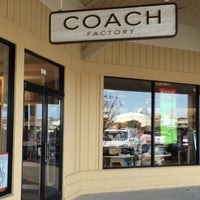 Photo taken at Coach Factory Outlet by Robin L. on 5/5/2014