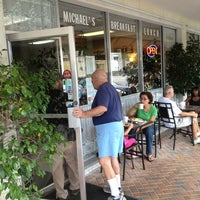 Photo taken at Michael's Cafe by Ted G. on 8/3/2013