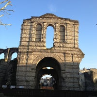 Photo taken at Palais Gallien by Vanessa L. on 3/3/2013