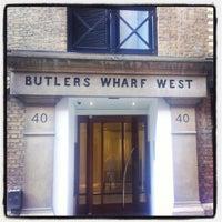 Foto tomada en Butler's Wharf por David B. el 7/12/2013
