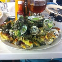 Photo taken at Mariscos Roque by Erick M. on 2/18/2013
