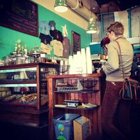 Photo taken at Sentient Bean by Ashley H. on 11/24/2012