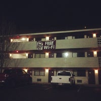 Photo taken at Red Roof Inn Jackson Downtown - Fairgrounds by Ashley H. on 1/21/2013