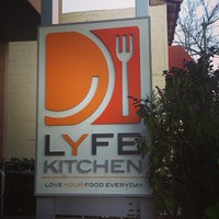 Photo taken at LYFE Kitchen by Ashley H. on 3/13/2013