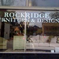 ... Photo Taken At Rockridge Furniture And Design By Esme Chloe K. On 11/25