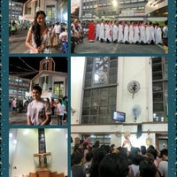 Photo taken at St.Jude Parish Church by Leni F. on 10/28/2012