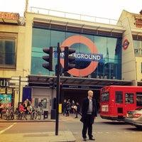 Photo taken at Brixton London Underground Station by Ayngelina B. on 10/31/2012