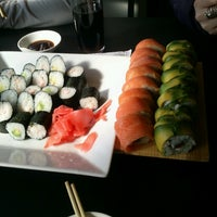 Photo taken at Bonsai Sushi Delivery by Sebastian Y. on 5/16/2013