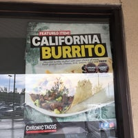 Photo taken at Chronic Tacos by Dave S. on 4/28/2017