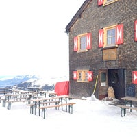 Photo taken at Wormser Hütte by Ralph S. on 1/9/2013