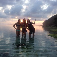 Photo taken at Green Bowl Private Beach by Julia on 11/11/2014