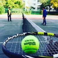 Photo taken at Atakoy Tenis Kortlari by DOĞU on 10/19/2015