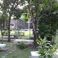 Photo taken at Garden Of Prayer GKI Gejayan by Adrian P. on 8/14/2014