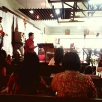 Photo taken at Gereja St. Albertus Agung Jetis by Dana S. on 5/4/2014