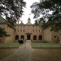 Photo taken at Wren Building and Courtyard by David A. on 10/26/2012