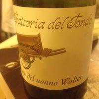 Photo taken at Antica Trattoria Del Tondo by Elisabetta B. on 9/28/2012