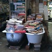 Photo taken at Libreria Acqua Alta by Katerina C. on 12/3/2012