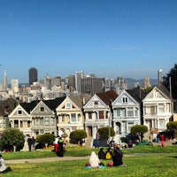 Photo taken at Painted Ladies by Nick T. on 2/23/2013