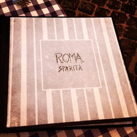 Photo taken at Roma Sparita by Nick T. on 10/10/2012