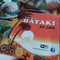 Photo taken at Hayaki Kopitiam by Azman A. on 11/12/2012