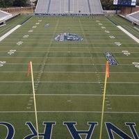 Photo taken at Foreman Field at S.B. Ballard Stadium by Mark H. on 9/23/2013
