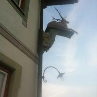 Foto tomada en Gasthof Zum Hirsch por Thomas E. el 7/7/2013