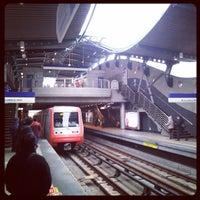 Photo taken at Metro Quilín by José Luis C. on 7/29/2013
