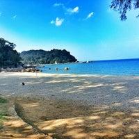Photo taken at Pantai Teluk Cempedak (Beach) by Ihsan K. on 7/1/2013