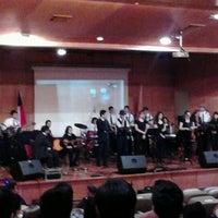 Foto tomada en Universidad Mayor Campus Manuel Montt por Diego M. el 10/18/2012