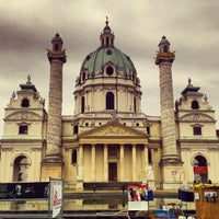 10/7/2012 tarihinde NERO ..ziyaretçi tarafından Karlskirche'de çekilen fotoğraf