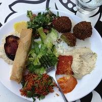 Photo taken at Dada Falafel by NERO .. on 5/5/2013