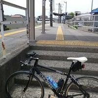 Photo taken at Miyaki Station by あいり さ. on 5/6/2014