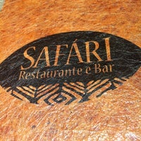 Photo taken at Safari Restaurante e Bar by Vander D. on 12/3/2012