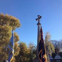 Photo taken at Tring War Memorial by Simon T. on 11/10/2013
