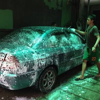 Photo taken at JRM Car Wash & Auto Detailing by Francis C. on 9/1/2013
