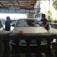 Photo taken at JRM Car Wash & Auto Detailing by Francis C. on 6/2/2013