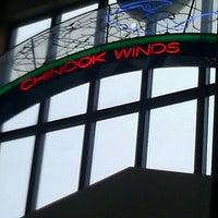 Photo taken at Chinook Winds Casino Resort by Yvonne B. on 4/19/2013