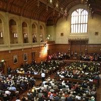 Photo taken at Bonython Hall by Vincent L. on 4/16/2013