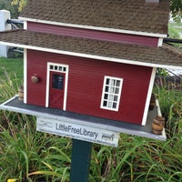 Photo taken at little free library by Joe G. on 9/3/2014