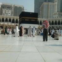 Photo taken at الحرم by Merve S. on 10/8/2012