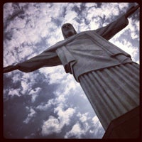 Photo taken at Christ the Redeemer by Marcos M. on 2/19/2013
