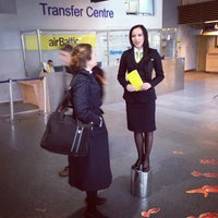 Photo taken at Riga International Airport (RIX) by Andrejs Z. on 10/17/2013