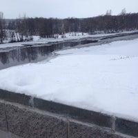 Photo taken at берег реки Мухавец by дмитрий л. on 12/30/2014
