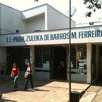 Photo taken at Escola Zuleika de Barros by Rodrigo T. on 10/7/2012