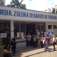 Photo taken at Escola Zuleika de Barros by Rodrigo T. on 10/5/2014