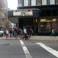 Photo taken at AMC Loews 19th Street East 6 by Jenn S. on 7/2/2013