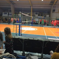 Photo taken at Volley Asse Lennik by Laurence B. on 1/16/2016